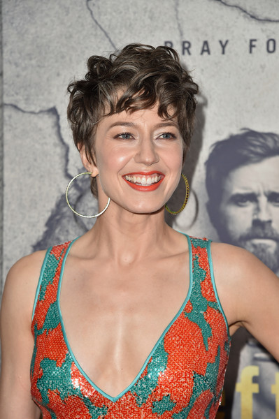 More Pics Of Carrie Coon Messy Cut 6 Of 12 Short Hairstyles Lookbook Stylebistro