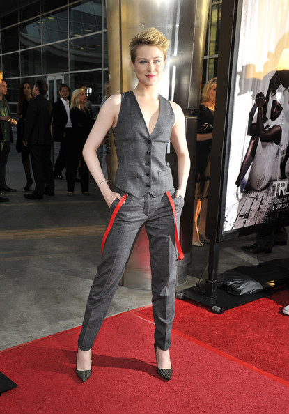 More Pics of Evan Rachel Wood Vest (4 of 15) - Evan Rachel Wood Lookbook - StyleBistro