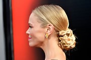 Lauren Boweles rocked a multi-braided bun at the premiere of 'True Blood' season 6.