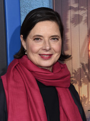 Isabella Rossellini wore her short hair with flippy ends at the premiere of 'Shut Eye.'