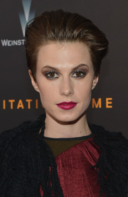 Elettra Wiedemann rocked a fauxhawk at the premiere of 'The Imitation Game.'
