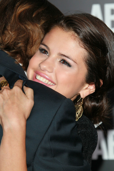 More Pics of Selena Gomez Loose Bun (1 of 35) - Selena Gomez Lookbook - StyleBistro
