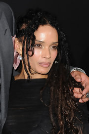 Lisa Bonet added a classic touch to her edgy look with a pair of pearl drop earrings when she attended the 'Conan the Barbarian' premiere.