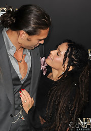 Lisa Bonet swept on a couple coats of classic red polish for the premiere of 'Conan the Barbarian.'
