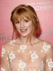 Bella Thorne was a charmer at the 'Catching Fire' LA premiere with this messy crown braid.