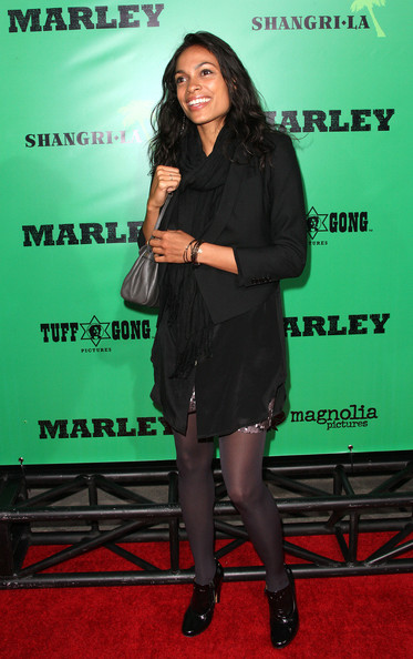 More Pics of Rosario Dawson Pashmina (1 of 4) - Rosario Dawson Lookbook - StyleBistro