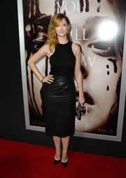 Judy Greer's little black dress at the 'Carrie' premiere was a perfect blend of sporty and sophisticated.