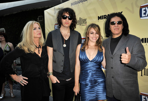 More Pics of Shannon Tweed Ruffle Blouse (1 of 7) - Tops Lookbook - StyleBistro [eyewear,event,fashion,performance,vision care,little black dress,arrivals,gene simmons,sophie simmons,nick simmons,shannon tweed,l-r,arclight hollywood,miramax films,premiere,premiere]