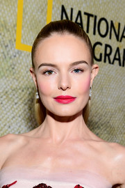 Kate Bosworth styled her hair into a sleek half-up 'do for the premiere of 'The Long Road Home.'