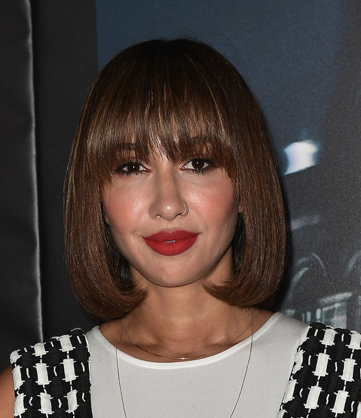 Jackie Cruz sported a perfectly styled bob with eye-grazing bangs at the premiere of 'Ingobernable.'