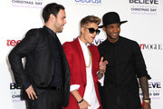 Justin Bieber and Scooter Braun Photo