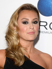 Alexa Vega looked dreamy with her curly side sweep at the 'Machete Kills' premiere.