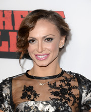 Karina Smirnoff looked oh-so-glamorous with her soft, curly updo at the 'Machete Kills' premiere.