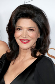 Shohreh Aghdashloo styled her hair into a retro-chic bouffant for the premiere of 'The Promise.'