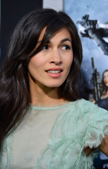 More Pics of Elodie Yung Long Wavy Cut with Bangs (1 of 35) - Long Wavy Cut with Bangs Lookbook - StyleBistro