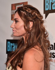 Lizzie Rovsek attended the premiere party for 'The Real Housewives of Orange County' wearing a lovely half-up braid.