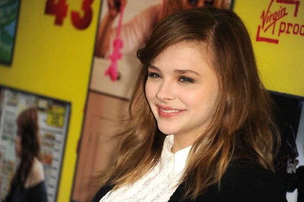 More Pics of Chloe Grace Moretz Long Wavy Cut (4 of 12) - Long Wavy Cut Lookbook - StyleBistro