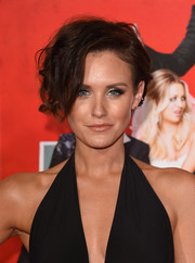 Nicky Whelan went punky with these messy short waves at the premiere of 'The Wedding Ringer.'