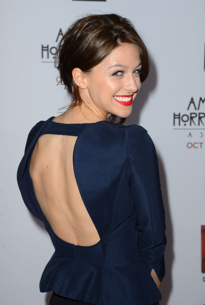 More Pics of Melissa Benoist Side Swept Curls  (2 of 6) - Melissa Benoist Lookbook - StyleBistro