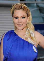 Shanna Moakler was a bright-eyed beauty at the premiere of 'Skateland.' She lined her upper and lower lids with electric blue shadow.