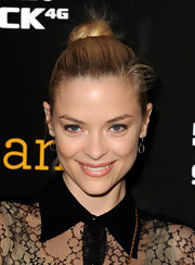 Jamie King styled her hair in a sleek bun to the premiere of 'Skateland.' She completed her look with shimmering lip gloss.