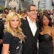 Ashley Tisdale and Kenny Ortega