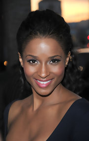 Ciara was a silver sensation at the premiere of 'Death at a Funeral.' She topped off her look with pink lipstick.
