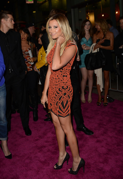 More Pics of Ashley Tisdale Peep Toe Pumps (1 of 22) - Peep Toe Pumps Lookbook - StyleBistro