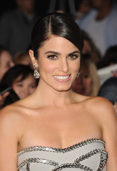 More Pics of Nikki Reed Chignon (4 of 61) - Nikki Reed Lookbook - StyleBistro