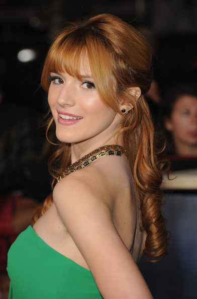 More Pics of Bella Thorne Fishtail Dress (1 of 24) - Fishtail Dress Lookbook - StyleBistro
