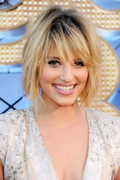 More Pics of Dianna Agron Bob (6 of 17) - Short Hairstyles Lookbook - StyleBistro