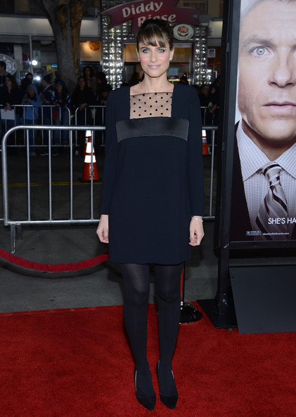 More Pics of Amanda Peet Little Black Dress (2 of 16) - Dresses & Skirts Lookbook - StyleBistro