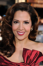 Maria shined at the 'Larry Crowne' premiere in gold Golden Shadow Maggy earrings.