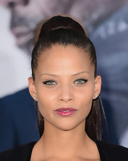 Denise Vasi made a ponytail red carpet-appropriate with this super-high 'do.
