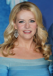Melissa Joan Hart attended the premiere of 'Frozen' looking very feminine with her bouncy curls.