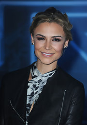 Actress Samaire Armstrong attended the premiere of 'TRON: Legacy' wearing a pair of sterling silver spike studs.