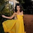 Vanessa Hudgens' Yellow Maria Lucia Hohan Gown