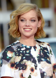 Jane Levy looked fab with her short wavy hairstyle at the premiere of ''This is Where I Leave You.'
