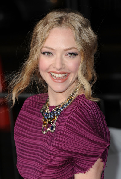 More Pics of Amanda Seyfried Gemstone Statement Necklace (1 of 45) - Amanda Seyfried Lookbook - StyleBistro
