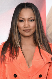 Garcelle Beauvais sported flat-ironed tresses at the premiere of 'Unforgettable.'