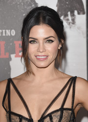 Jenna Dewan-Tatum looked gorgeous (as always) wearing this mildly messy updo at the premiere of 'The Hateful Eight.'
