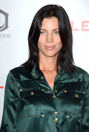 Liberty rocked some straight layers in her raven hair at the 'Lawless' premiere.