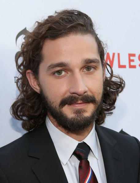 Shia LaBeouf contrasted his elegant attire with a disheveled mullet at the premiere of 'Lawless.'
