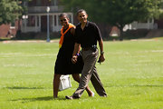 Barack Obama doesn't need anything fancy, just this sporty black watch.