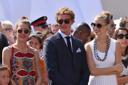 Beatrice Borromeo wore a cute pair of round sunglasses at the Throne Celebrations.