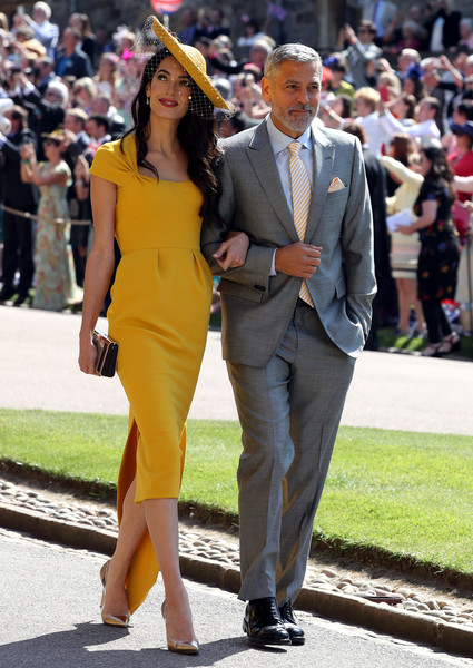 More Pics of Amal Clooney Cocktail Dress (1 of 75) - Amal Clooney Lookbook - StyleBistro