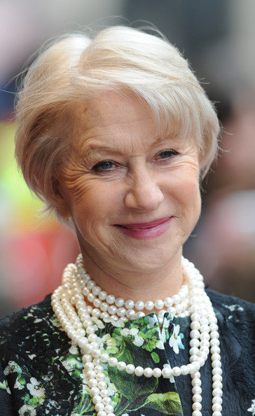 More Pics of Helen Mirren Print Dress (5 of 5) - Helen Mirren Lookbook - StyleBistro