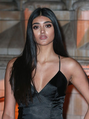 Neelam Gill left her long tresses loose with a center part when she attended the British Asian Trust reception and dinner.