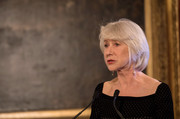 Helen Mirren attended the Invest in Futures reception wearing her signature bob.