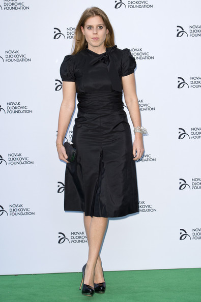 Princess Beatrice Little Black Dress